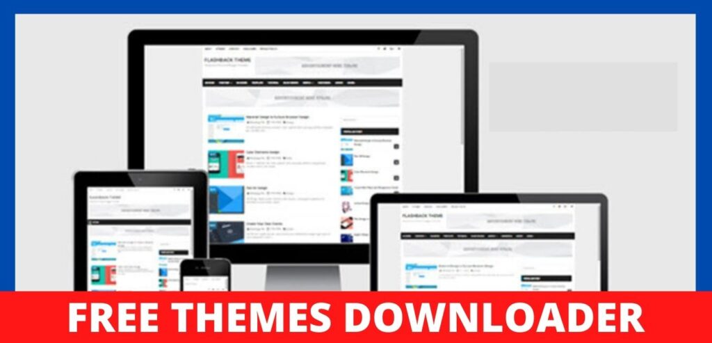 Flashback Blogger Template Free Download