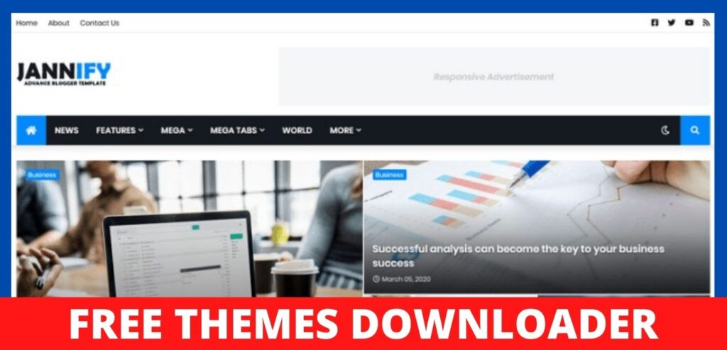 Jannify-Responsive-Blogger-Template-Download