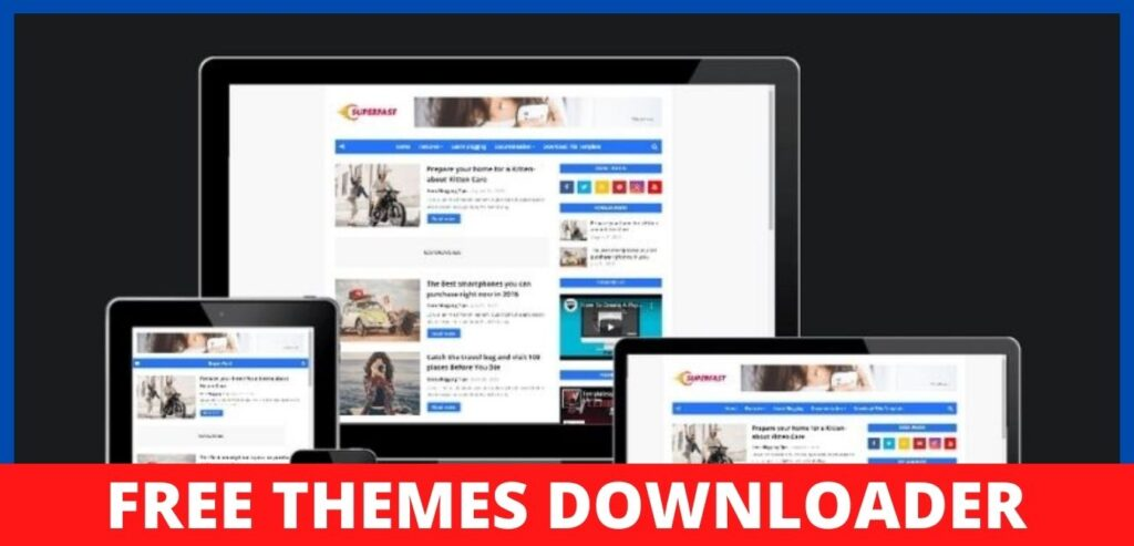 superfast-blogger-template-download